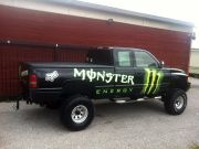 marquage PICK UP MONSTER