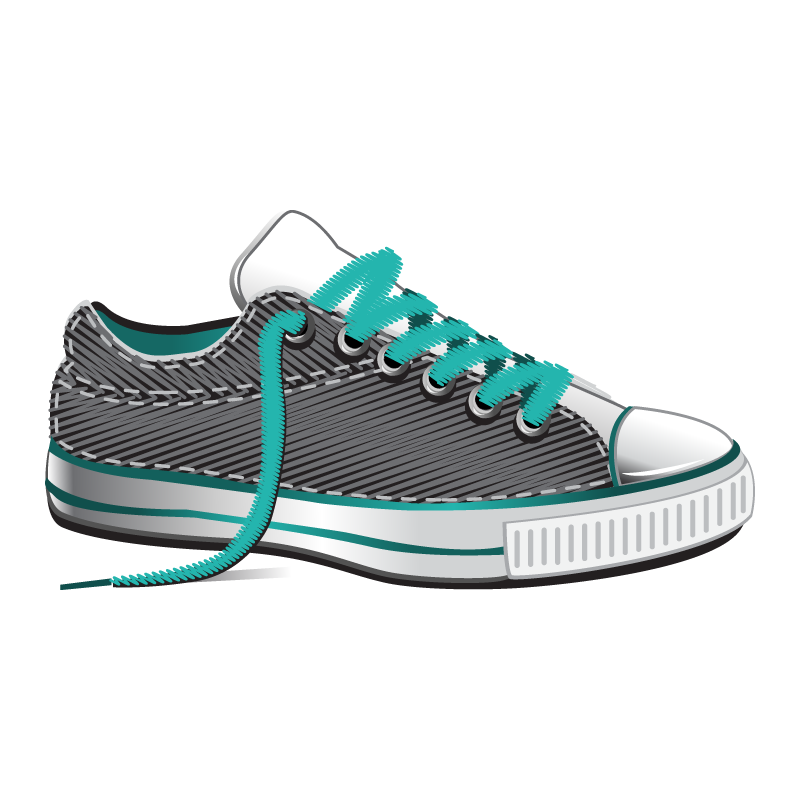 chaussure_turquoise